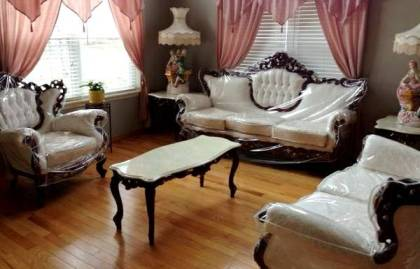 victorian living room set