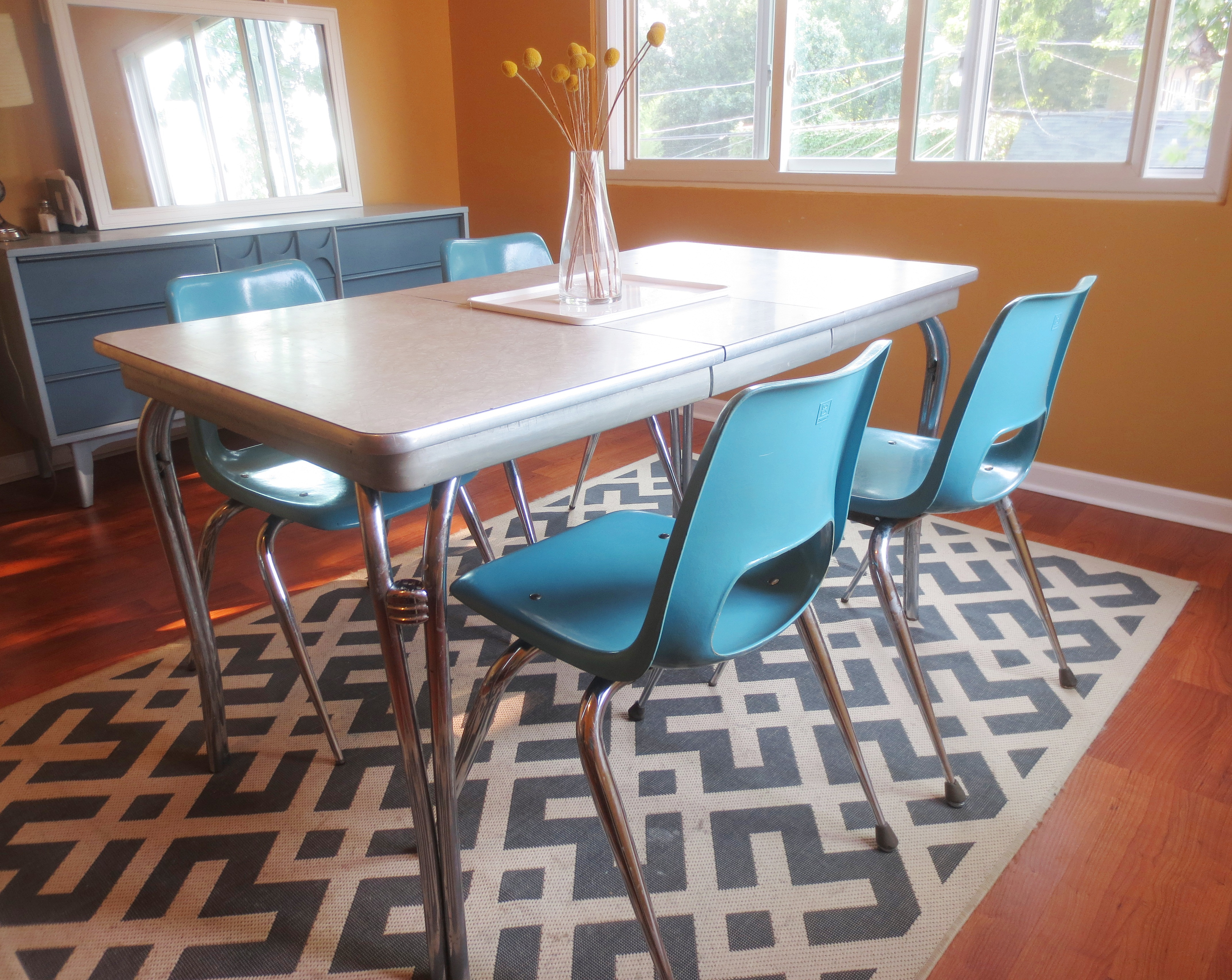 From Bowling Alley to Dining Room: Refinishing Fiberglass and Chrome ...