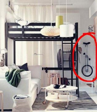 Living-and-bedroom-IKEA-catalog-2012_unicycleinred
