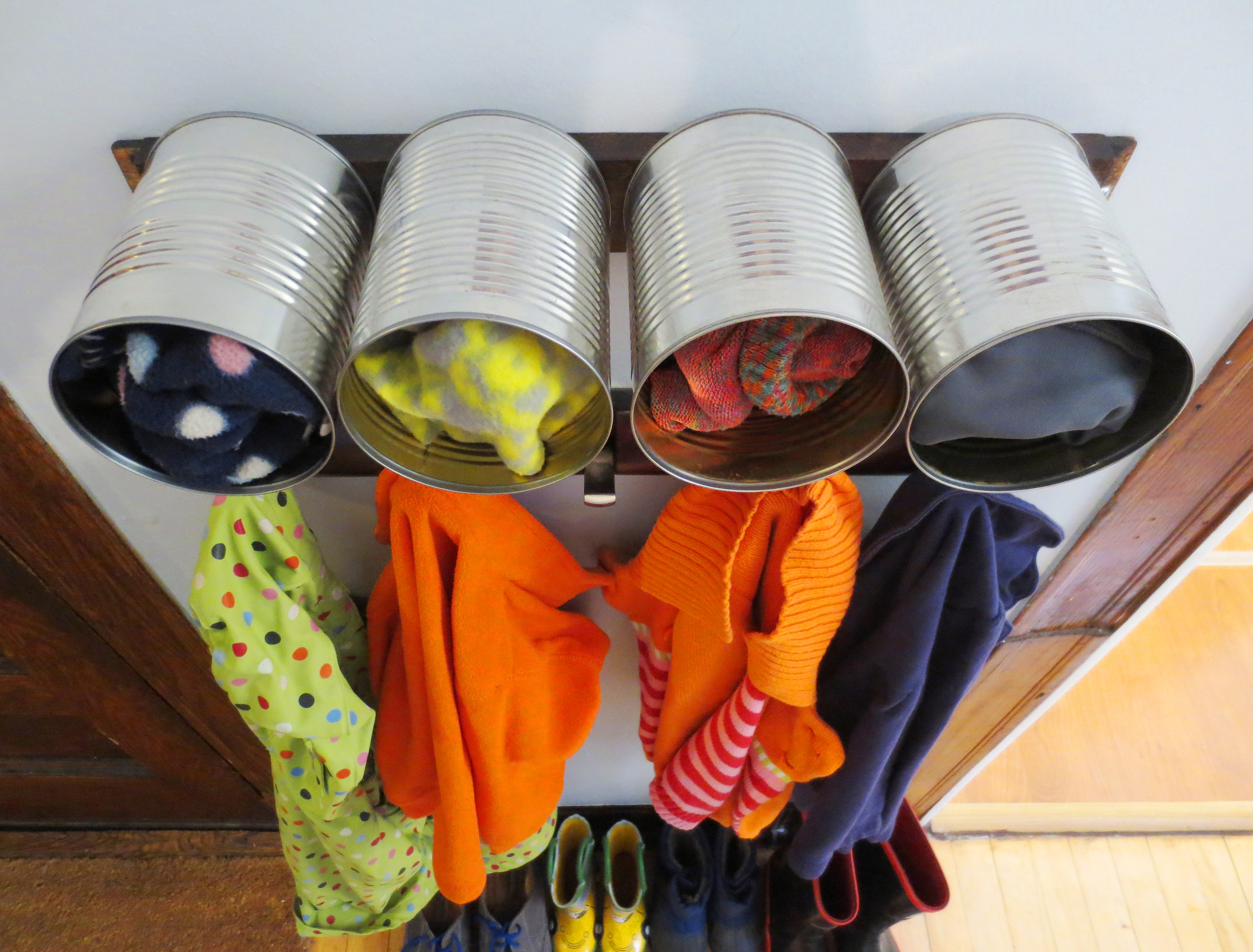 Upcycled Hat And Glove Storage Center Projectophile