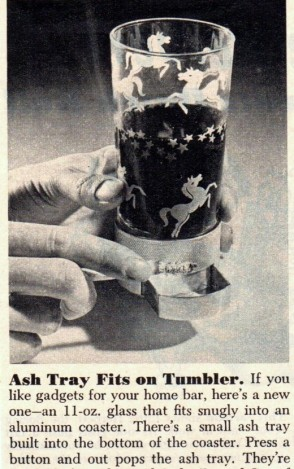 ash tray tumbler