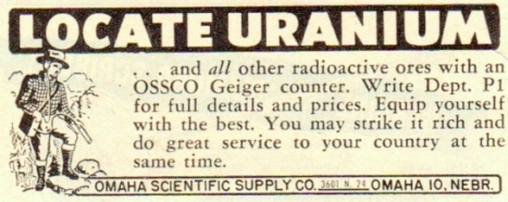 locate uranium