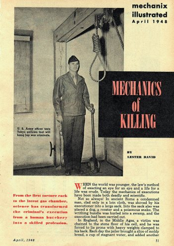 mechanics of killing