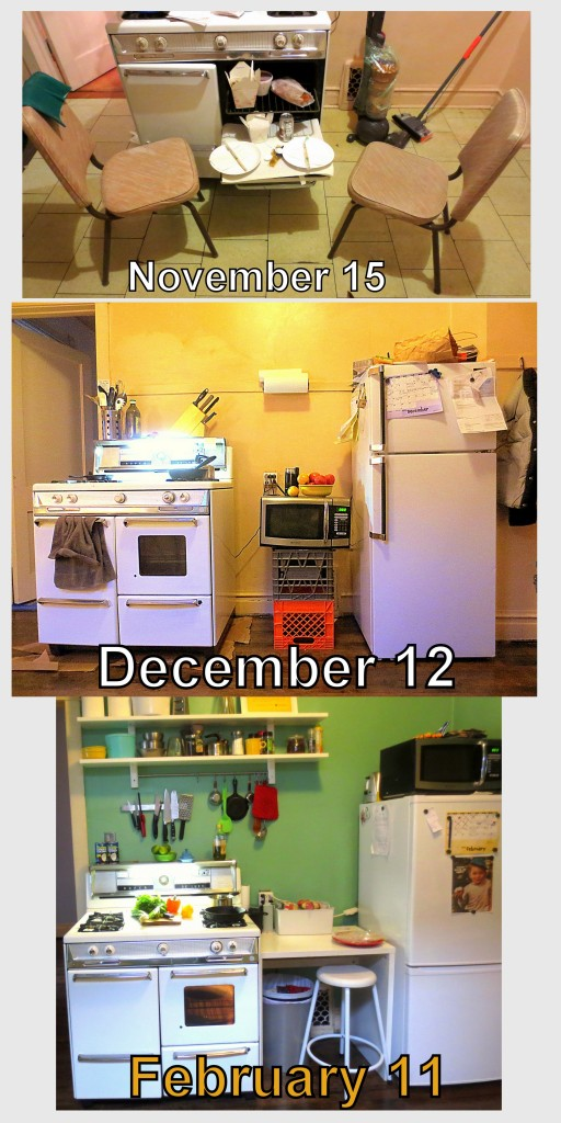 kitchen memory collage