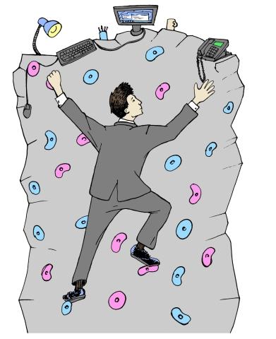 climbing sans caption